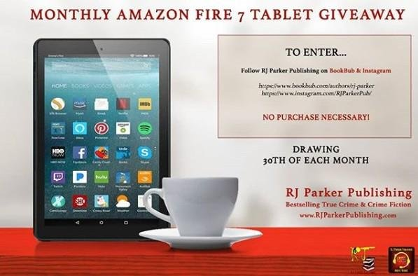 Kindle Giveaway by RJ Parker