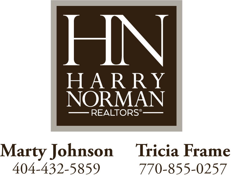 Marty Johnson and Tricia Frame logo
