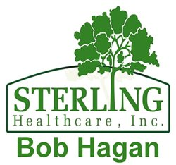 Sterling Healthcare, Inc Bob Hagan logo