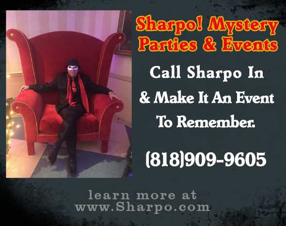 Sharpo Brings Mystery & Magic!