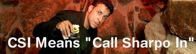 CSI Means Call Sharpo In!