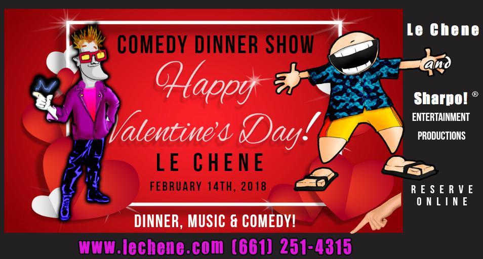 Valentines Dinner Show