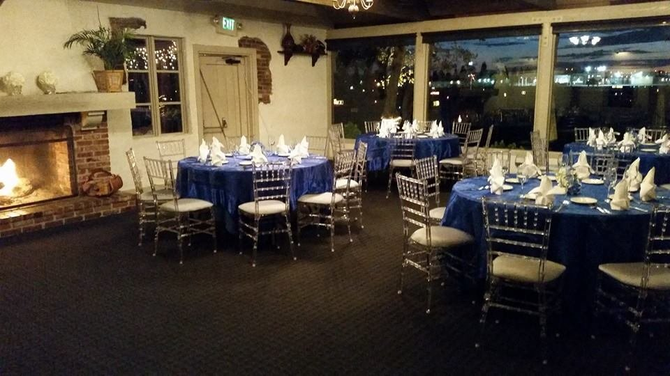 The 94th Aero Squadron Dinner Show Room