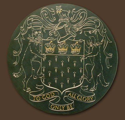 The Worshipful Company of Skinners Heraldic Plaque carved by Simon Keeley