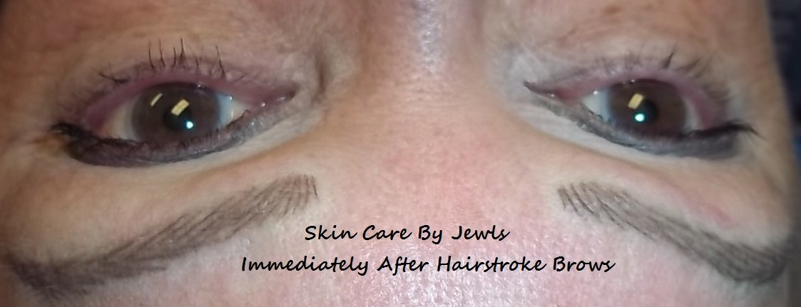 Hairstroke Brows at the Lakewood Ranch Day Spa - easy access from Sarasota, Bradenton and Tampa Locations