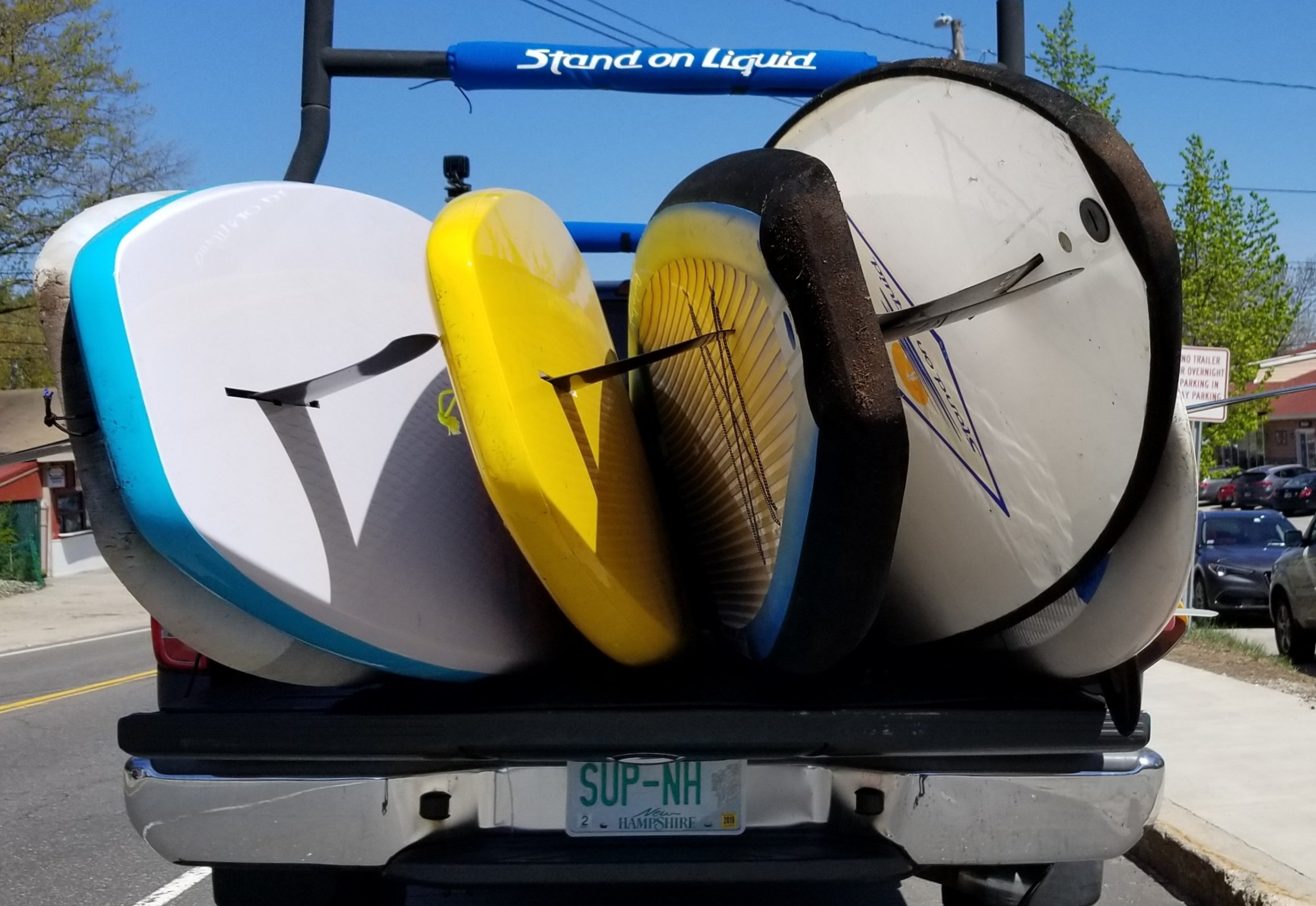 Paddleboard rental at SUPNH