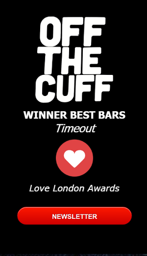 Timeout Best bars Love London Awards