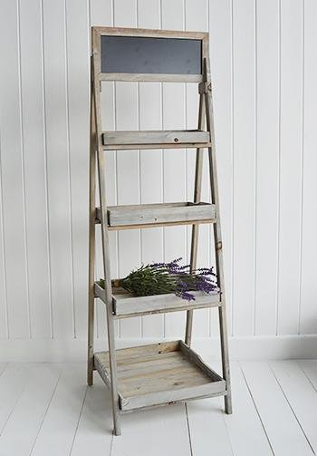 Montauk Wooden Shelf - Shelves for cottage hall furniture and interiors