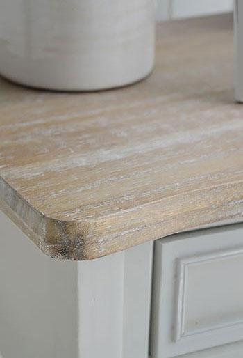 White Cottage Furniture - Bridgeport Grey Table