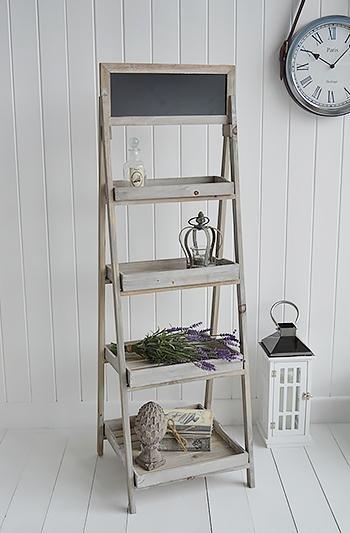 Montauk Wooden Shelf - Shelves for cottage interiors
