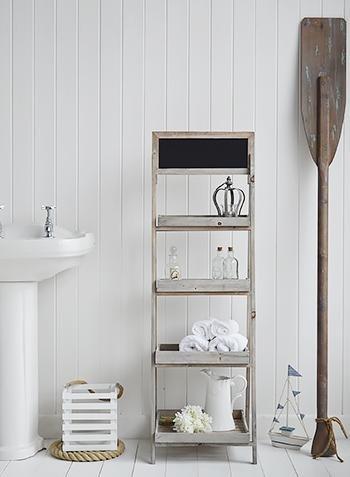 Montauk Wooden Shelf - Shelves for bathroom furniture
