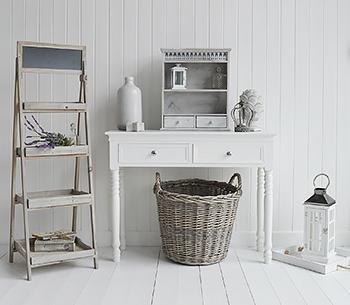 Montauk Wooden Shelf - Shelves for hallway furniture