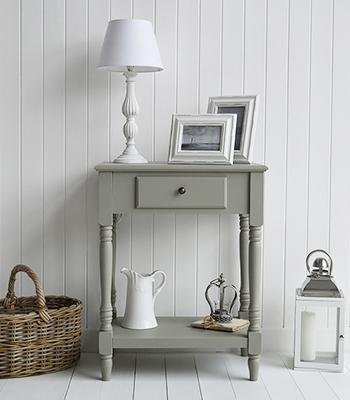 Charleston French Grey Table for hall console table