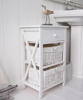 New Haven White Bathroom cabinet from White Cottage Bathroom Furniture
