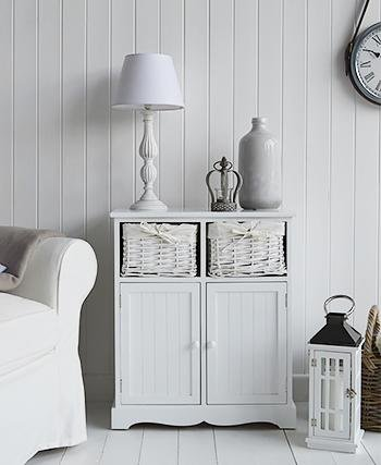 The White Cottage living room Furniture Maine Sideboard