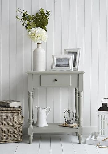 Charleston French Grey Table for living room cottage furniture