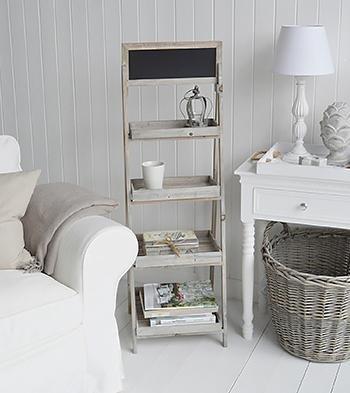 The White Cottage Hallway Furniture Montauk Shelves
