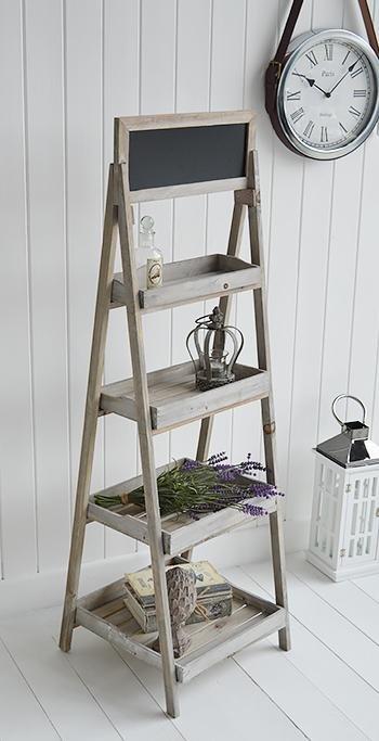 Montauk Wooden Shelf - Shelves for cottage furniture