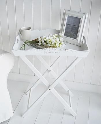 The White Cottage Butler Tray Table