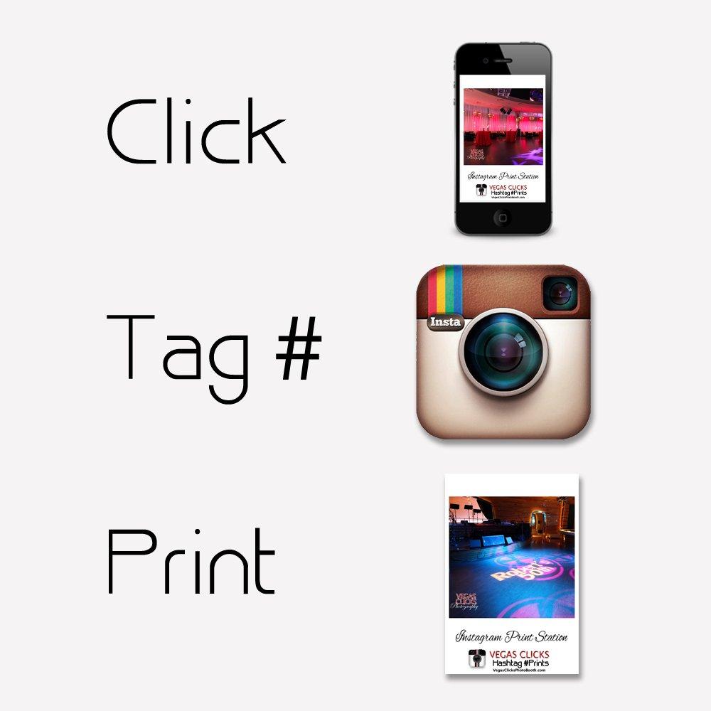 Instagram Hashtag Photo Station Las Vegas