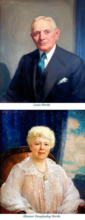 Louis and Eleanor Hertle