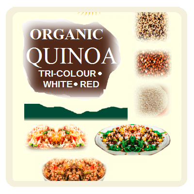 Organic Quinoa Products
