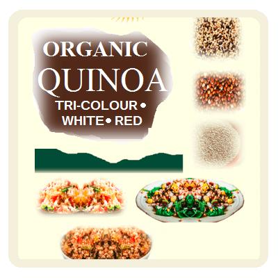 Organic Quinoa Products