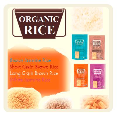 Organic Rice Products