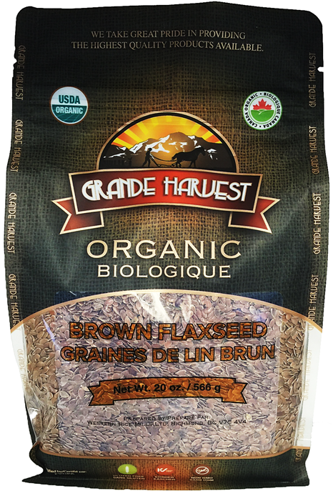 Organic Brown Flaxseed