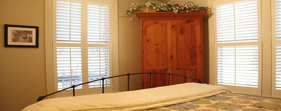 Bedroom at AppleGarden Cottage