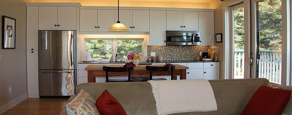 Kitchen at AppleGarden Cottage.