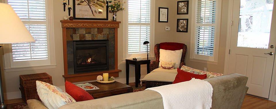 Abundant amenities at AppleGarden Cottage.