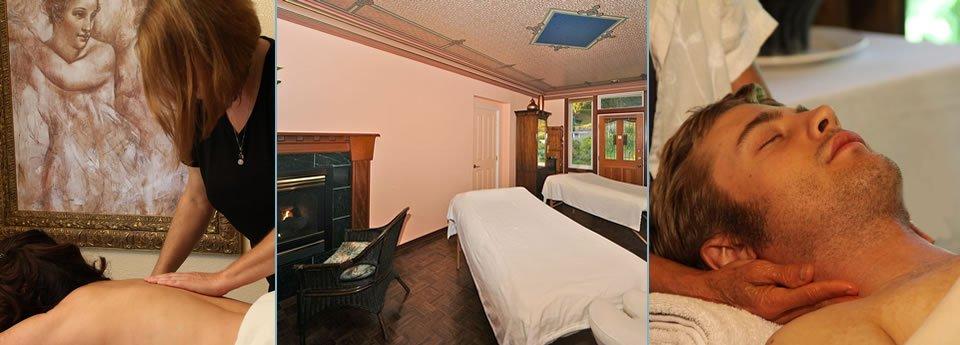 spa services at elk cove inn