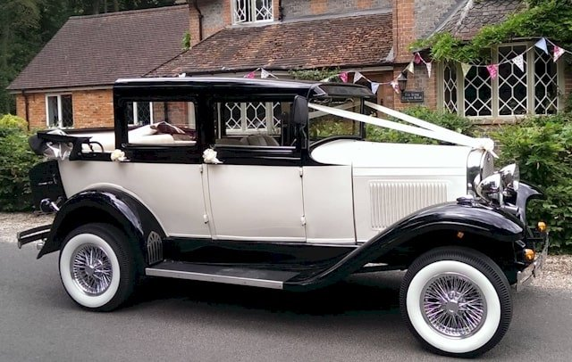 Badsworth wedding car