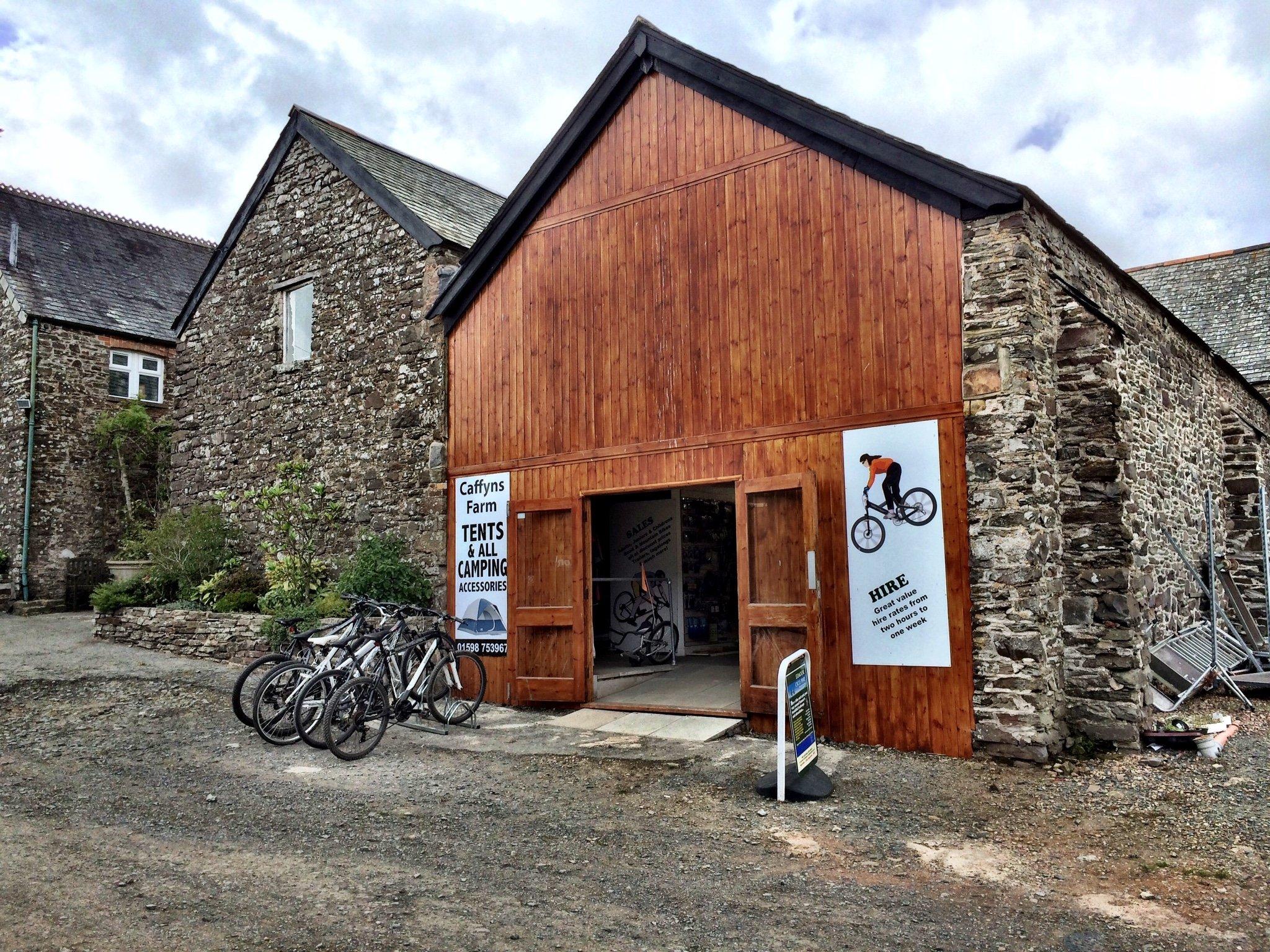 bike hire exmoor