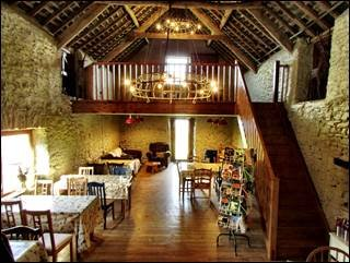 the barn cafe caffyns farm exmoor devon