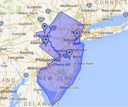 Cleaning services in New Jersey, Staten Island, NY and in selected counties of Pennsylvania
