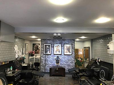 Renaissance Tattoo Studio Rickmansworth Working Area