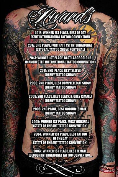 Award Winning Tattoo Rickmansworth Watford London