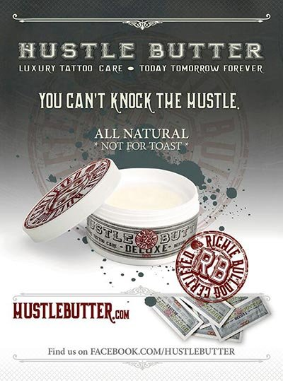 Hustle Butter Tattoo Cream