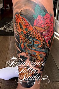Japanese Koi Fish Tattoo Renaissance Rickmansworth