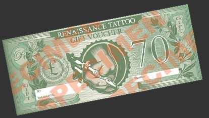 Renaissance Tattoo Voucher