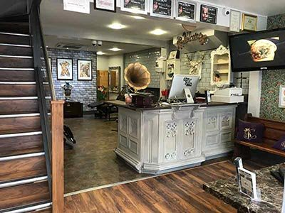 Renaissance Tattoo Studio Rickmansworth Reception Area