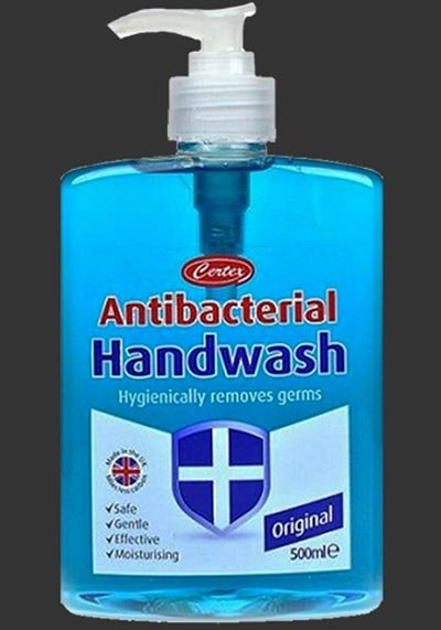 Antibacterial Hand wash for Tattoos