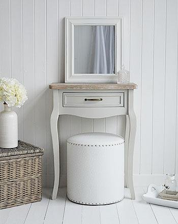 Bridgeport Grey Small Dressing Table