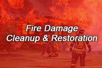 Fire Damage, Cleanup & Restoration