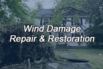 Wind Damage Cleanup & Restoration