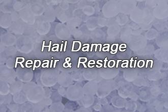 Hail Damage Cleanup & Restoration