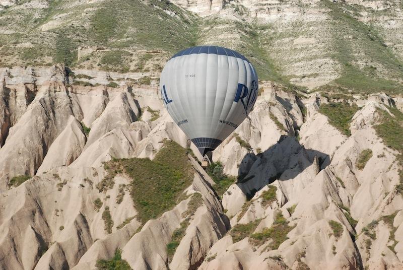 Royal Stone Houses - Göreme / Cappadocia - (Hot Air Balloon Flight)