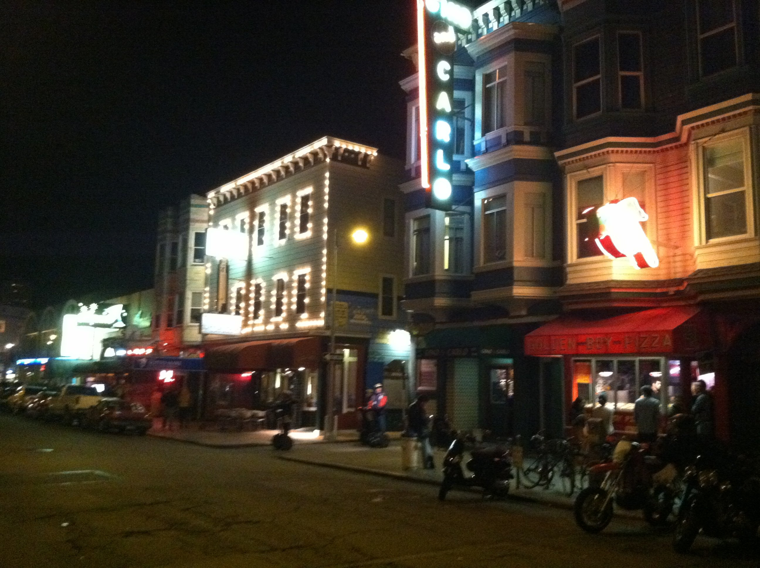 North Beach, Little Italy at night